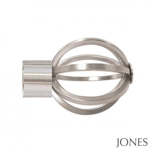 35mm Jones Strand Cage Finial matt nickel