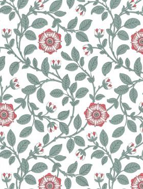 Little Greene Richmond Green Wallpaper