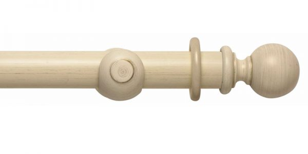 rolls modern country wooden curtain poles