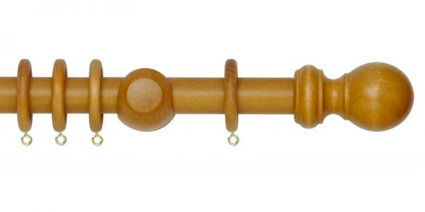 rolls woodline curtain poles