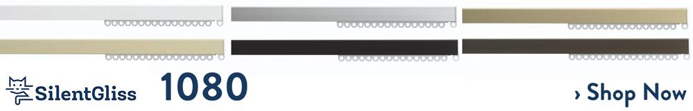 silent gliss 1080 curtain track