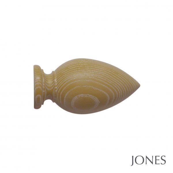 50mm Jones Oakham Cone Finial honey