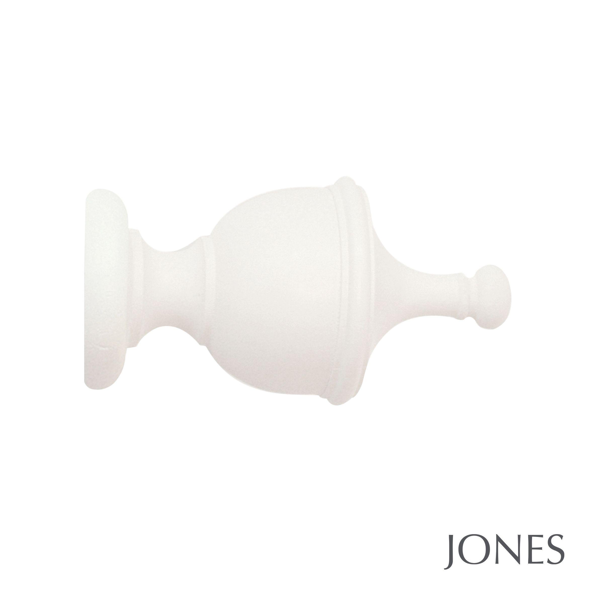 40mm Jones Urn Finial Cotton