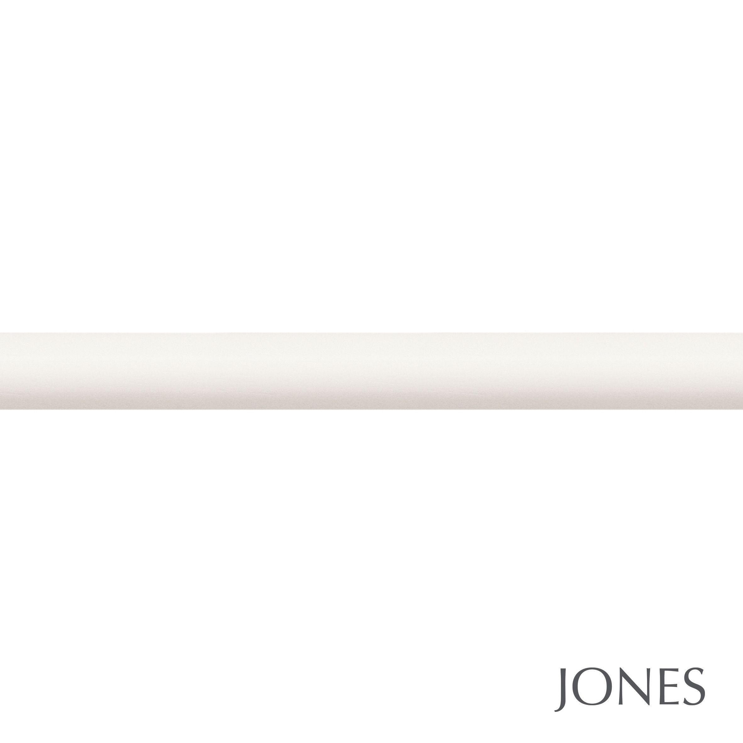40mm Jones Hardwick curtain pole only cotton