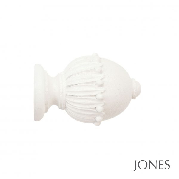 30mm Jones Cathedral Wells Finial Cotton
