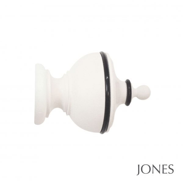 30mm Jones Cathedral Exeter Finial Cotton